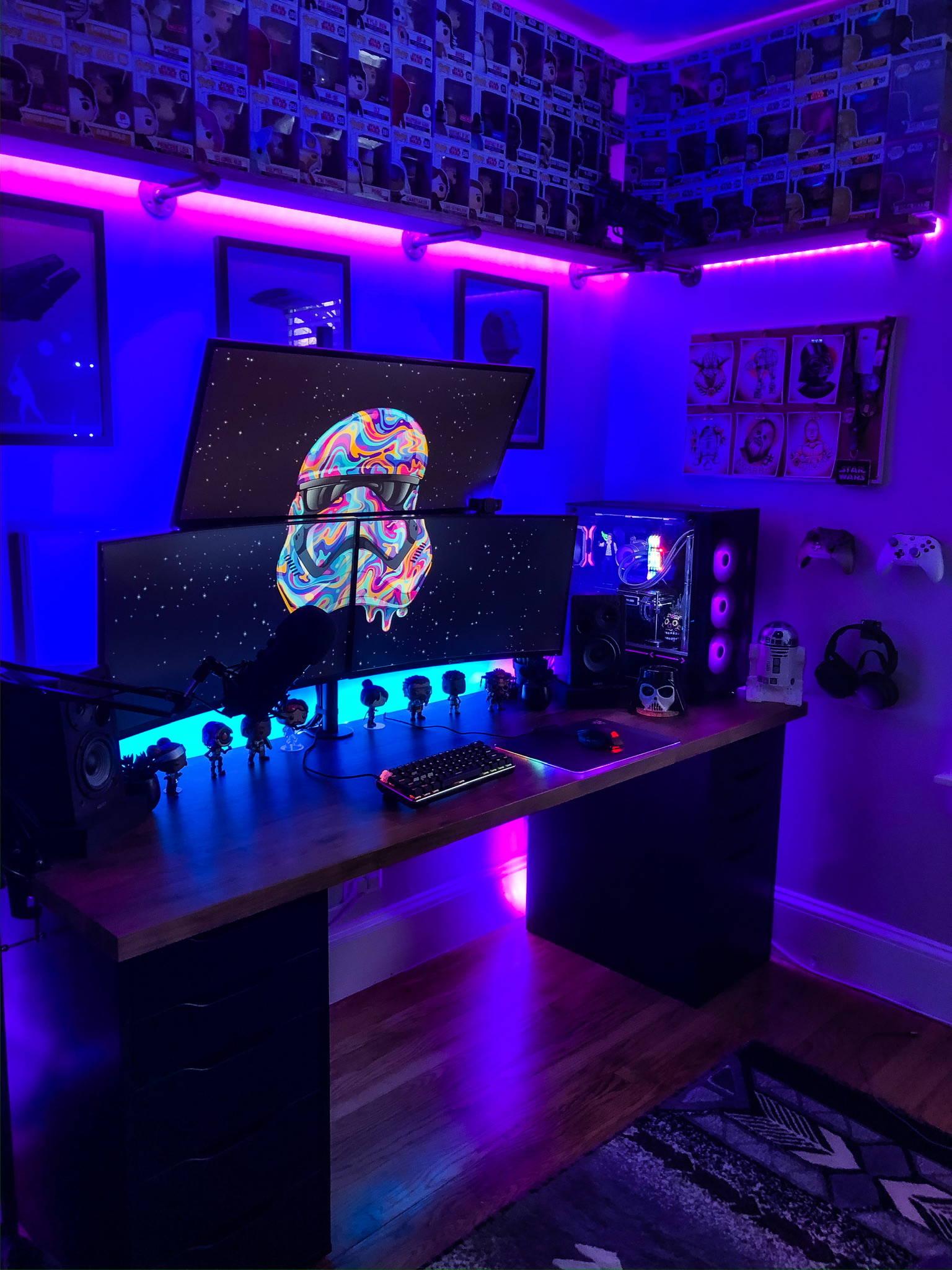 Fknhammahstix's Setup - Gaming. Streaming.  | Scooget