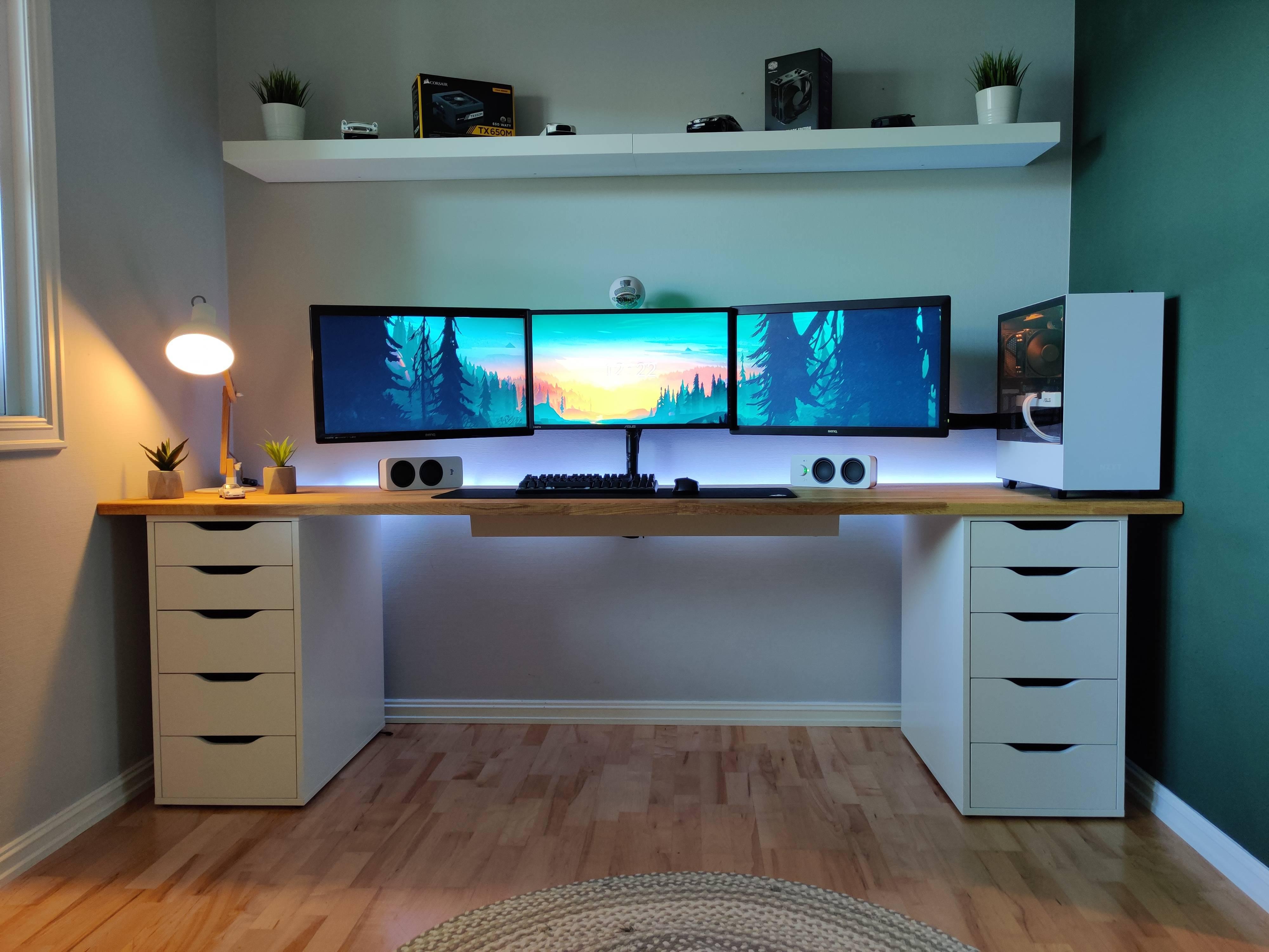 MatsPats's Setup - Home work/gaming station   Scooget