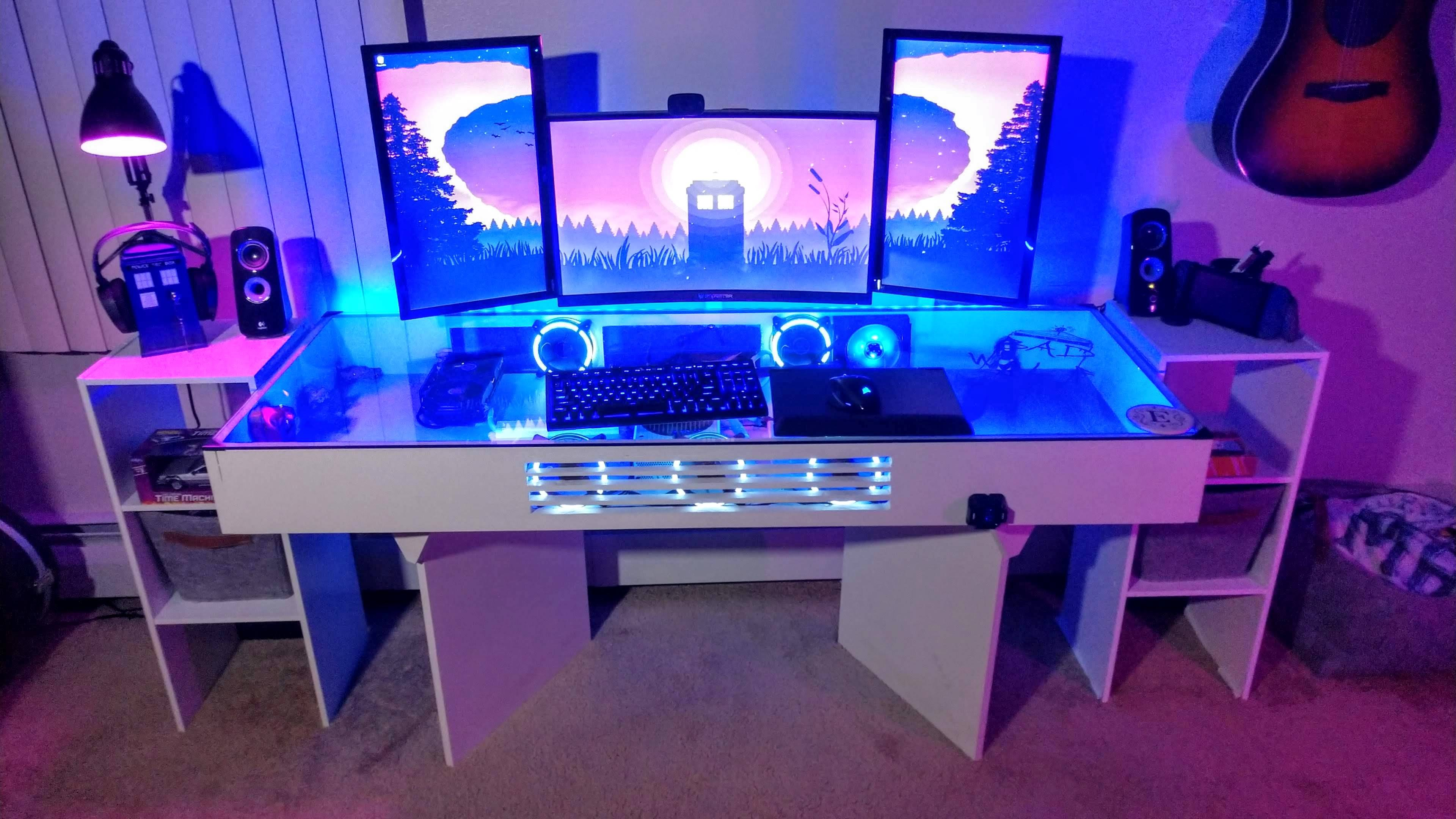 collinedwards's Setup - The TARDIS | Scooget