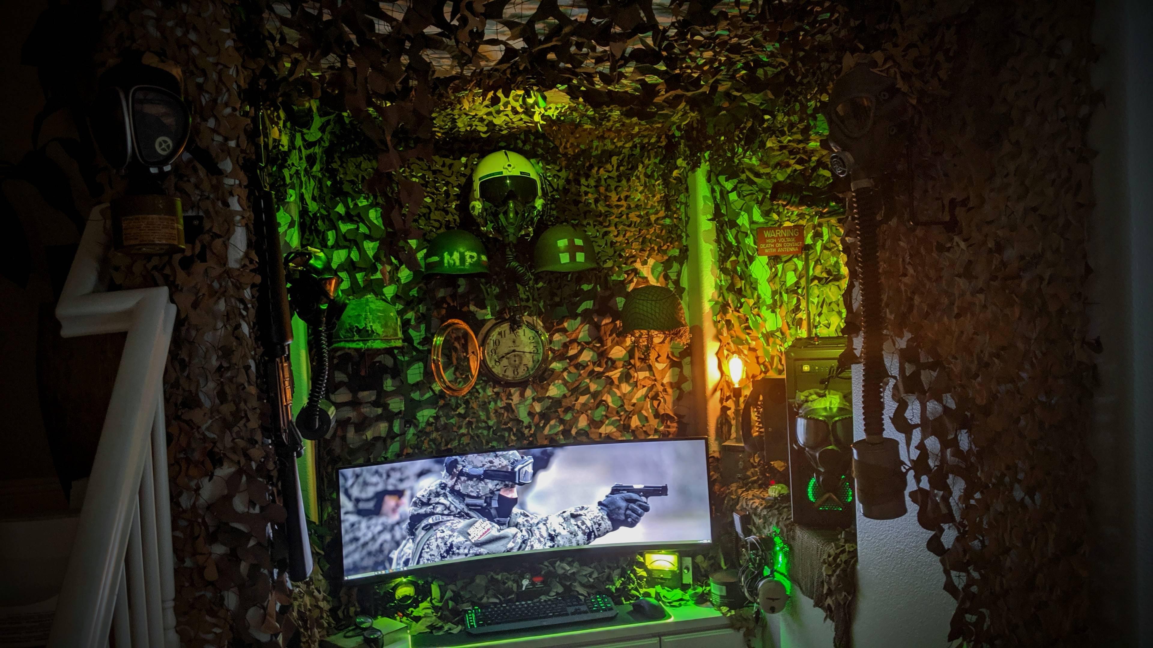 edgaroganesyan's Setup - Cartier's Insane Military inspired Bunker Setup | Scooget