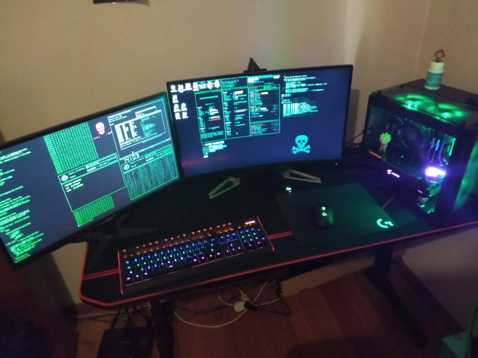 Kron1K's Setup - Kron1K Battlestation | Scooget