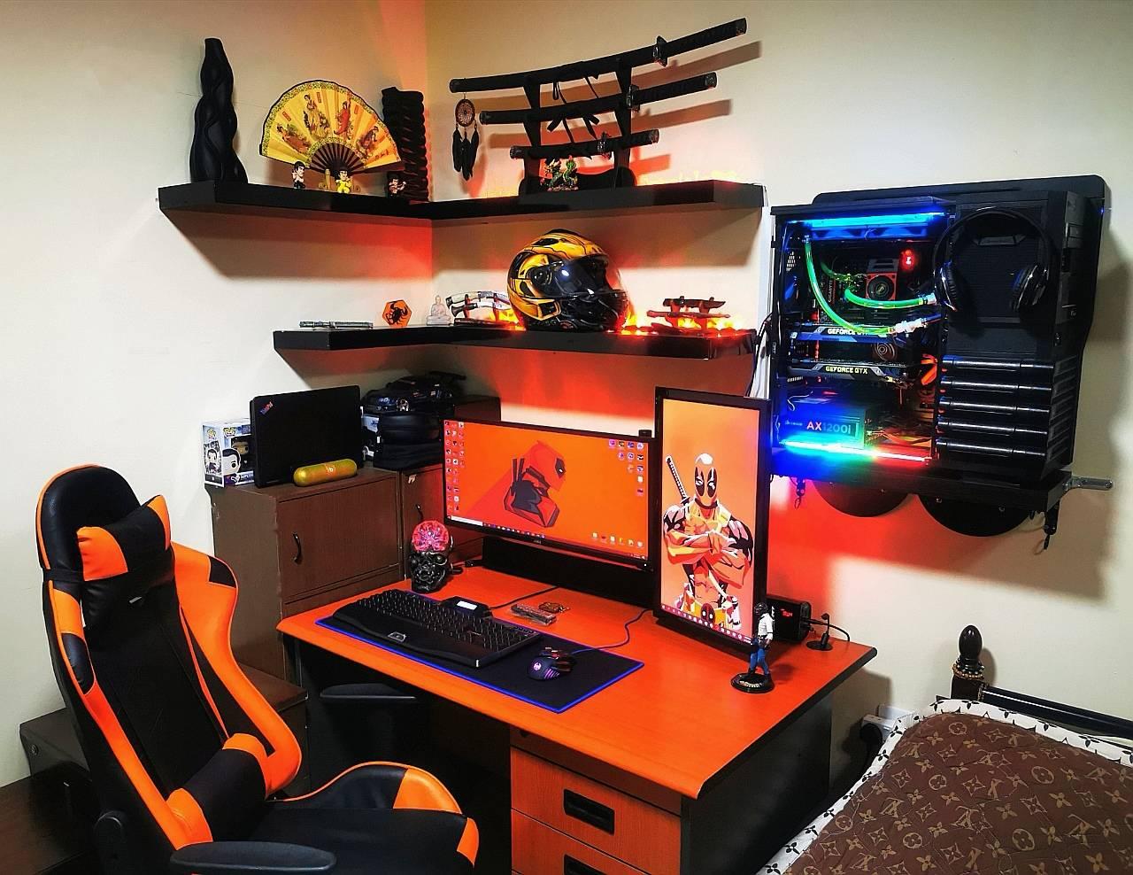 jayracutaspiras's Setup - Vintage minimal Workspace/Gaming Setup | Scooget